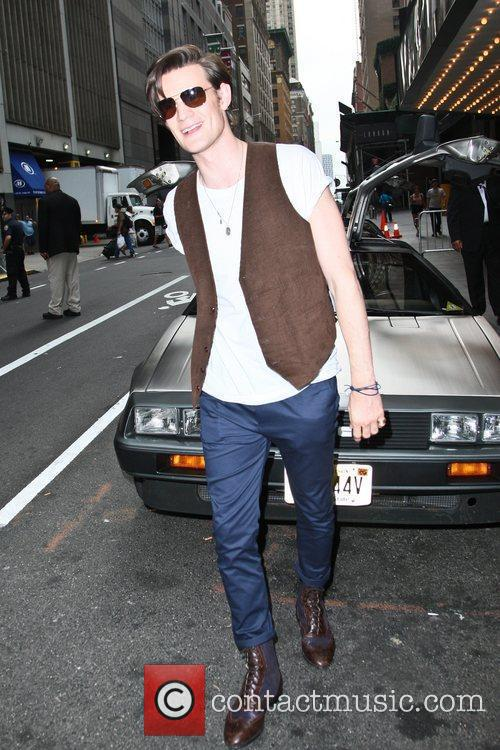 Matt Smith and Ziegfeld Theatre 10