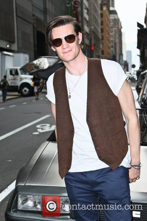Matt Smith and Ziegfeld Theatre 12