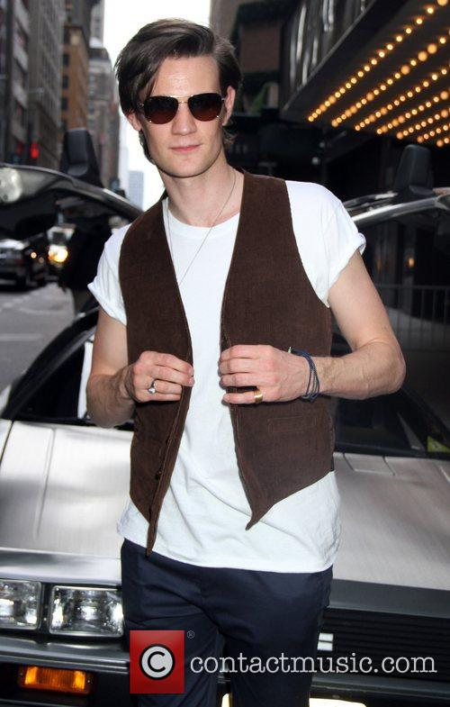 Matt Smith and Ziegfeld Theatre 4