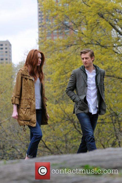Karen Gillan and Central Park 2