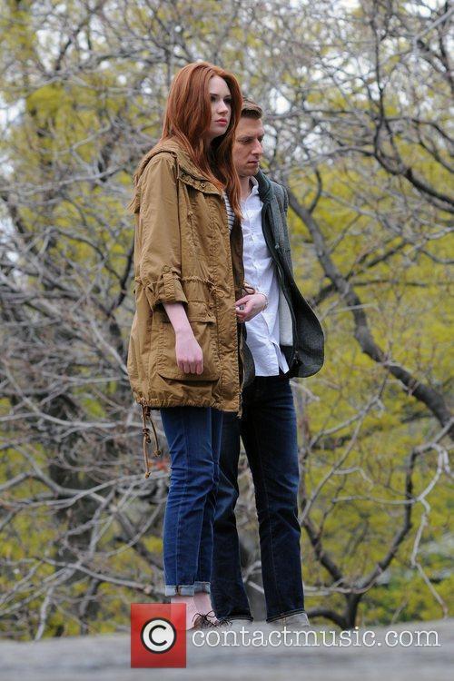 Karen Gillan and Central Park 3