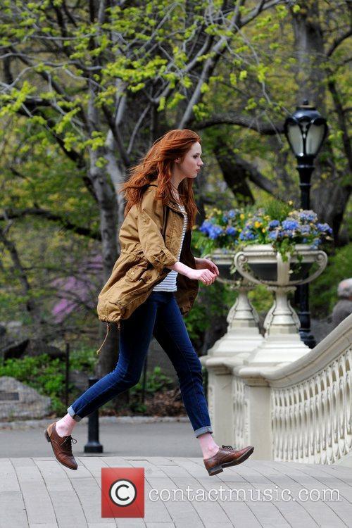 Karen Gillan and Central Park 6