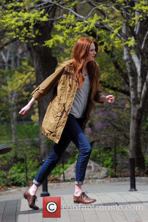 Karen Gillan and Central Park 7