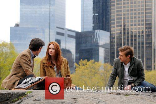 Matt Smith, Karen Gillan and Central Park 2