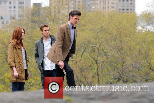 Matt Smith, Karen Gillan and Central Park 3