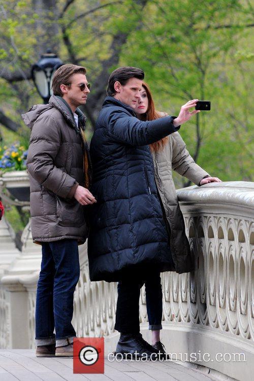 Matt Smith, Karen Gillan and Central Park 4