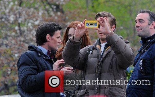 Matt Smith, Karen Gillan and Central Park 5