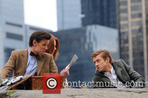 Matt Smith, Karen Gillan and Central Park 6