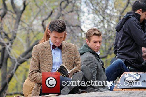 Matt Smith, Karen Gillan and Central Park 7