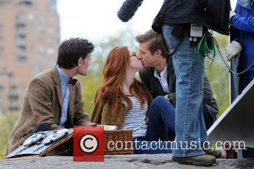 Matt Smith, Karen Gillan and Central Park 8
