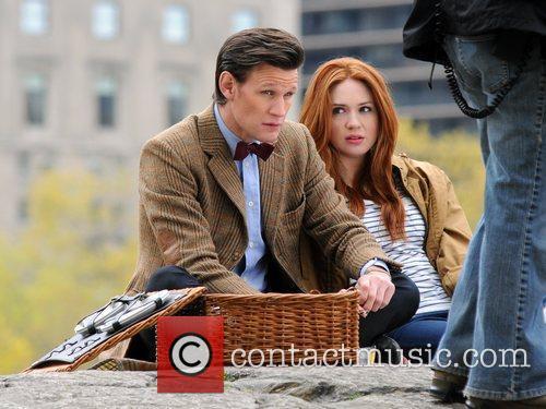 Matt Smith, Karen Gillan and Central Park 11