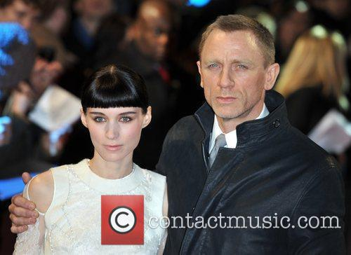 Rooney Mara, Daniel Craig and Odeon Leicester Square 4