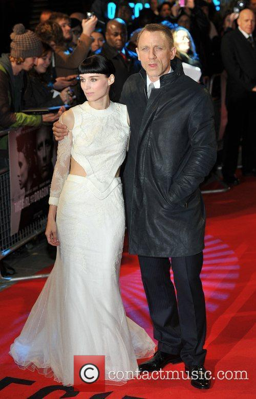 Rooney Mara, Daniel Craig and Odeon Leicester Square 3