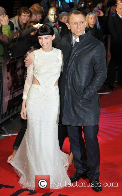 Rooney Mara, Daniel Craig and Odeon Leicester Square 5
