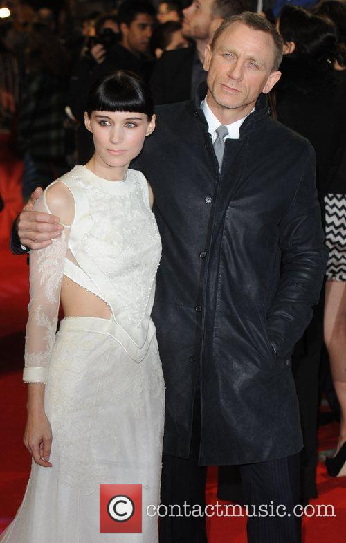 Rooney Mara, Daniel Craig and Odeon Leicester Square 6