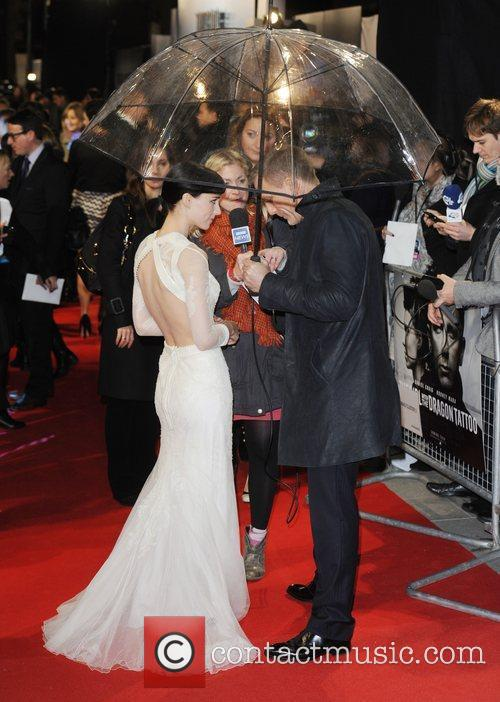 Rooney Mara, Daniel Craig and Odeon Leicester Square 10