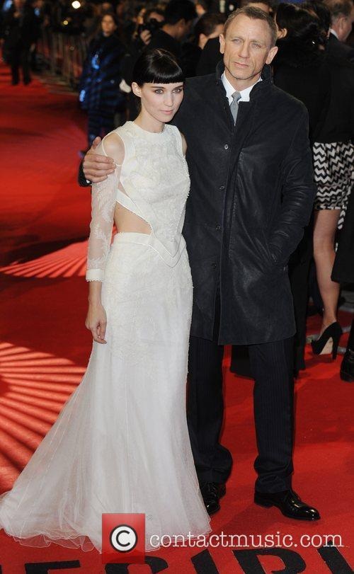 Rooney Mara, Daniel Craig and Odeon Leicester Square 7