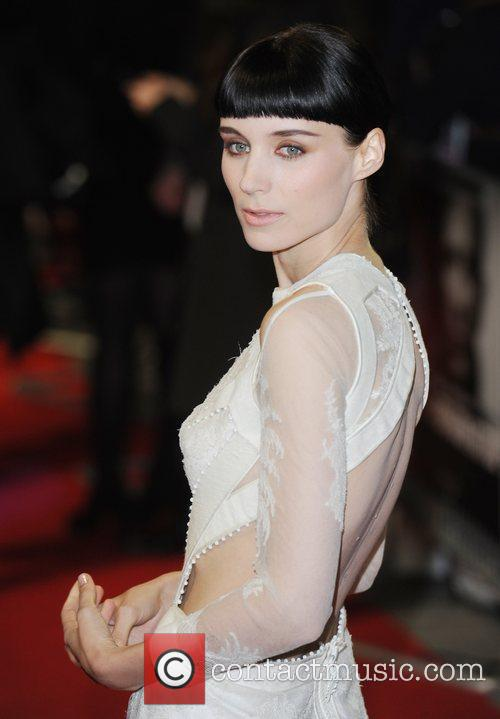 Rooney Mara, Daniel Craig and Odeon Leicester Square 8