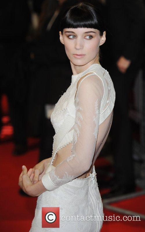 Rooney Mara, Daniel Craig and Odeon Leicester Square 9