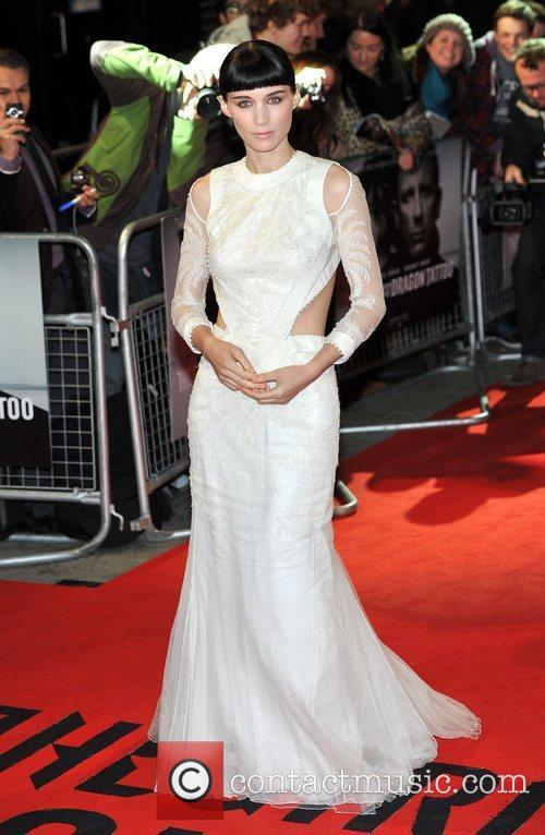 Rooney Mara and Odeon Leicester Square 3