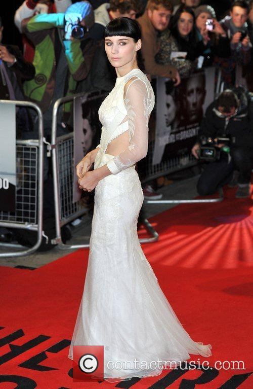 Rooney Mara and Odeon Leicester Square 4