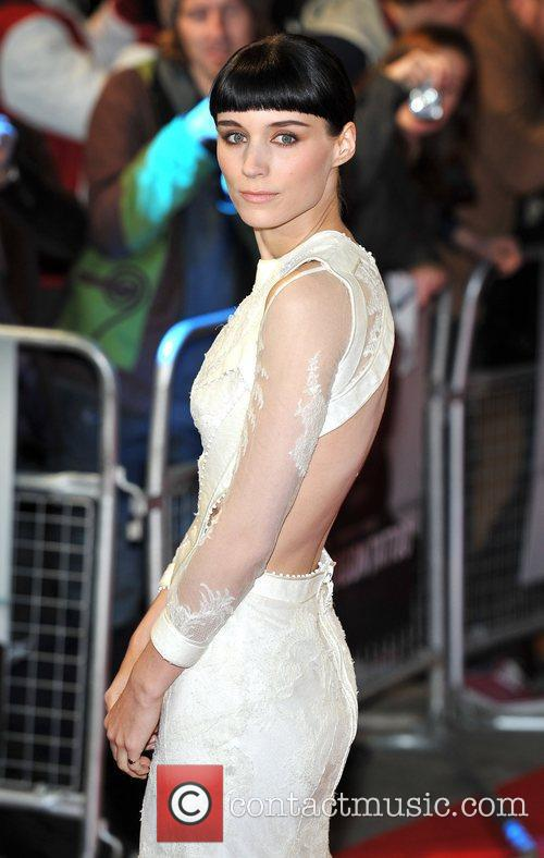 Rooney Mara and Odeon Leicester Square 2