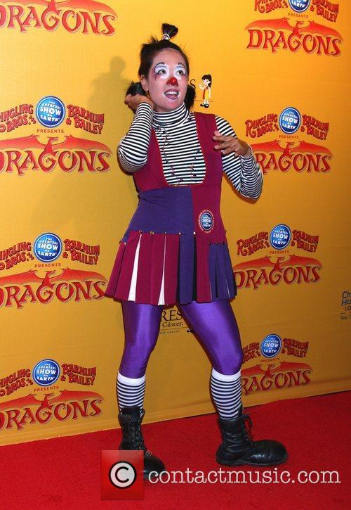 Clown  'Dragons' presented by Ringling Bros. &...