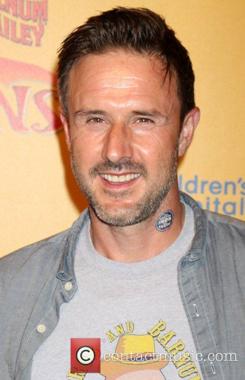 David Arquette  'Dragons' presented by Ringling Bros....