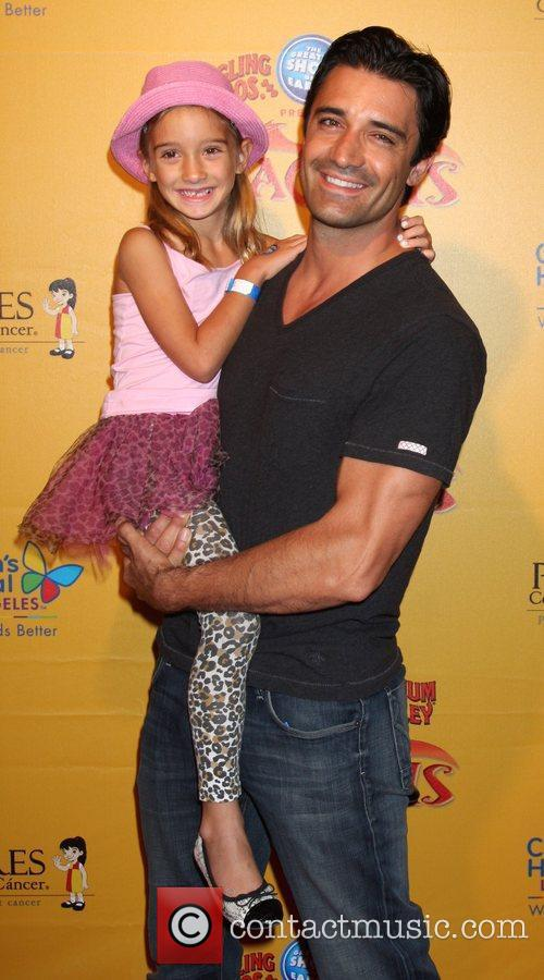 Gilles Marini and daughter Julianna  'Dragons' presented...