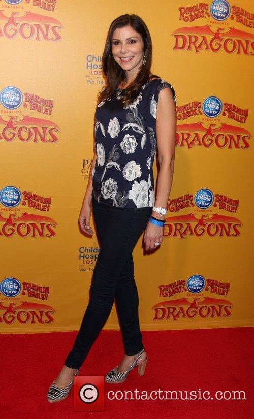 Heather Dubrow  'Dragons' presented by Ringling Bros....