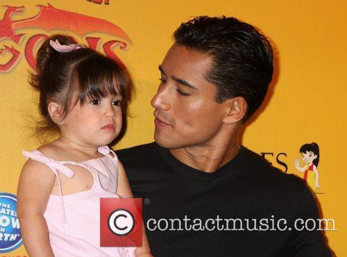 Mario Lopez and daughter Gia  'Dragons' presented...