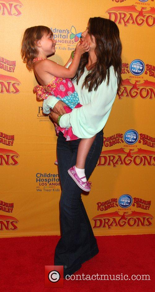 Marisol Nichols  'Dragons' presented by Ringling Bros....