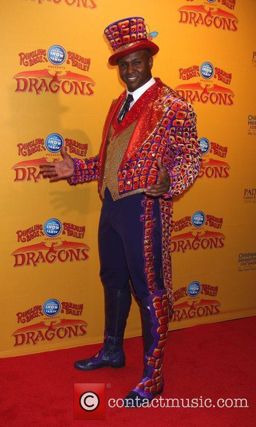 Ringmaster  'Dragons' presented by Ringling Bros. &...