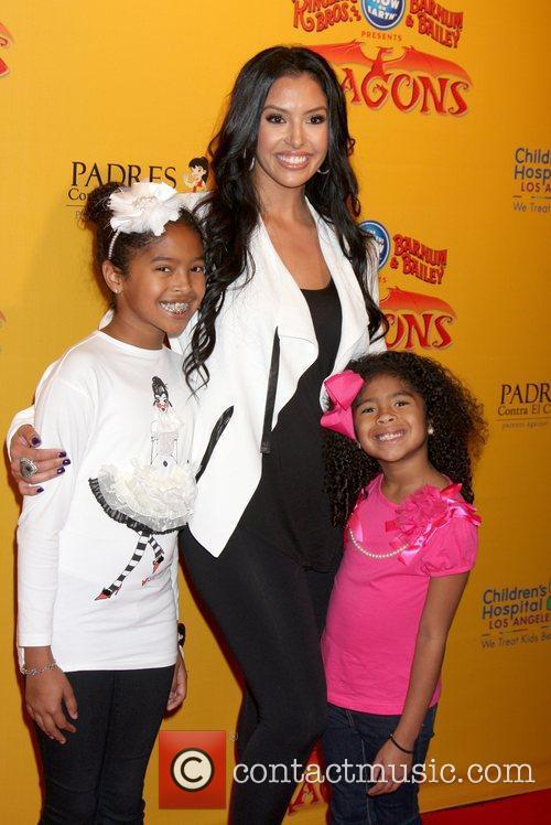 Vanessa Bryant and her children  'Dragons' presented...