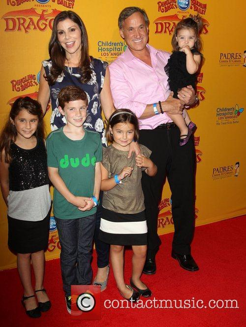 Heather Dubrow, Terry Dubrow and their children 'Dragons'...