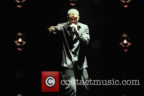 Rapper Drake performs on opening night of Club...