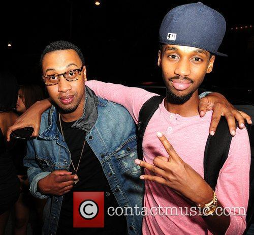 Cortez Bryant and DJ Future Drake attends Club...