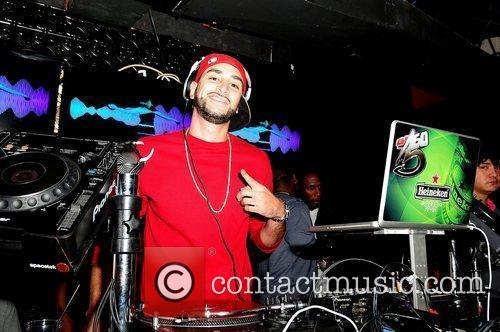 DJ 360 Drake attends Club Paradise Tour After...