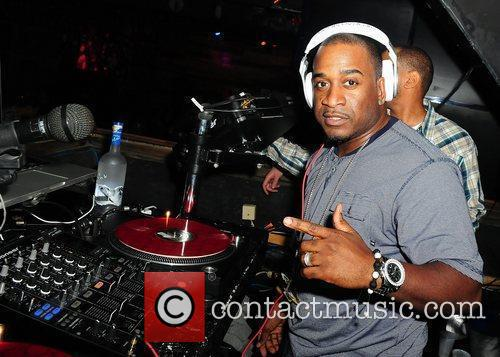 DJ LS One Drake attends Club Paradise Tour...