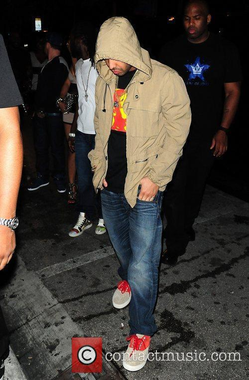 Drake attends Club Paradise Tour After Party at...