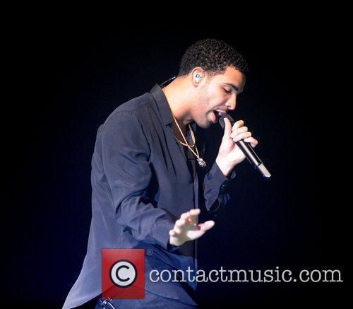Rapper Drake performing at the Heineken Music Hall...
