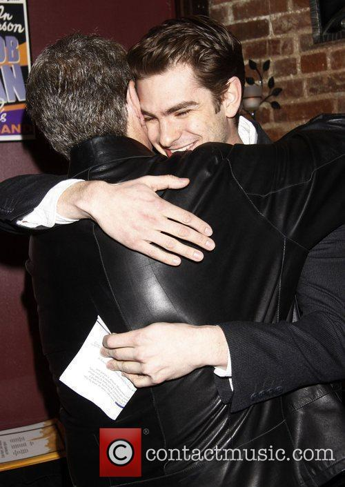 Andrew Garfield and Mike Nichols The 2012 New...