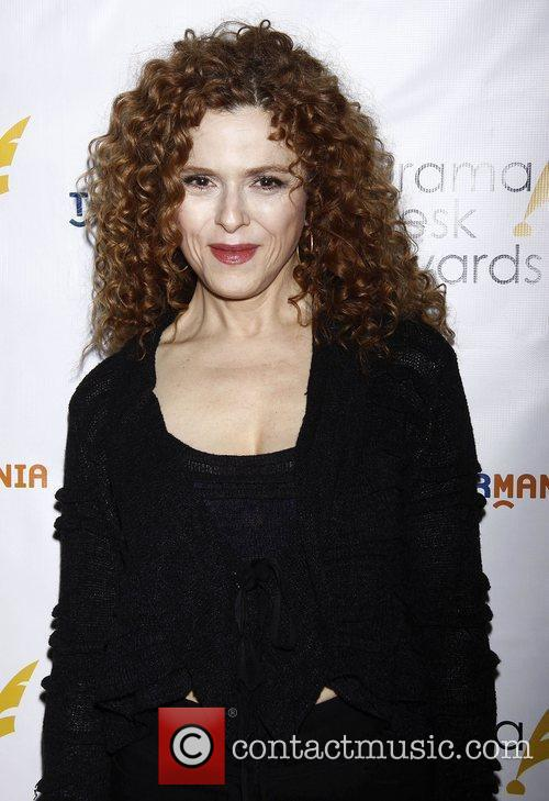Bernadette Peters at the official reception for the...