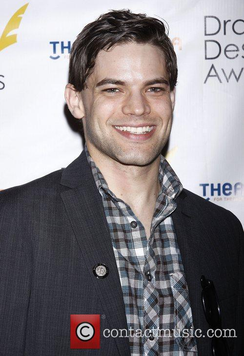 Jeremy Jordan at the official reception for the...