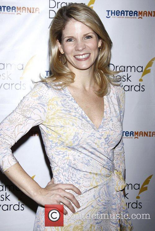 Kelli O'Hara at the official reception for the...