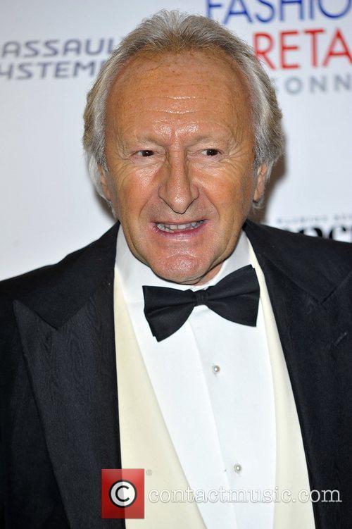 Harold Tilman,  at the Drapers Fashion Awards...