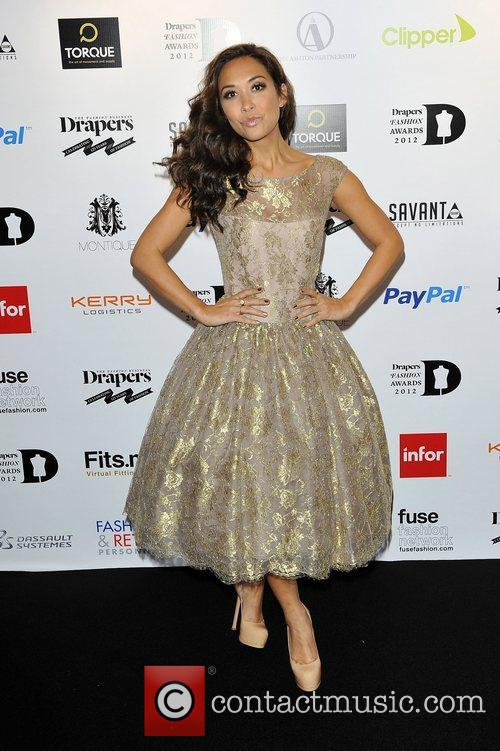 Myleene Klass,  at the Drapers Fashion Awards...