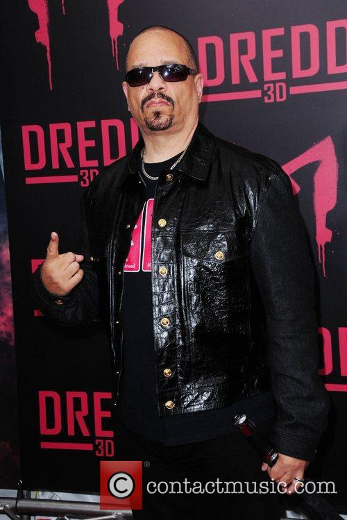 Ice-T 'DREDD 3D' New York Screening at Regal...