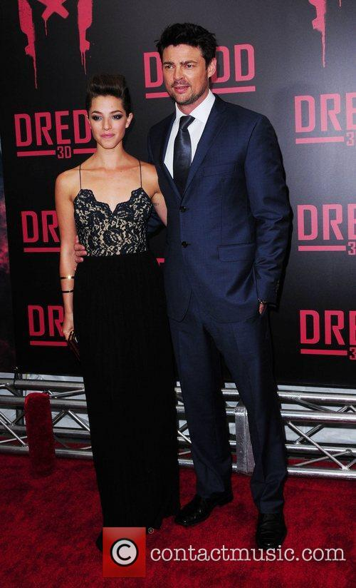 Olivia Thirlby and Karl Urban 7
