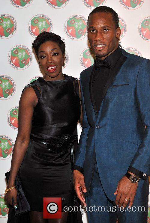 Didier Drogba and Estelle 5